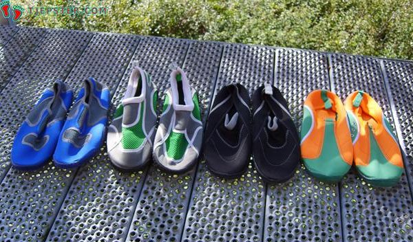 Variety Of Aqua Shoes For Barefoot Running
