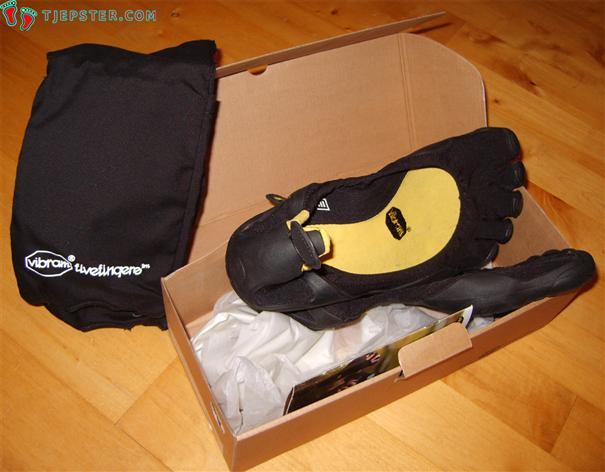 Vibram Five Fingers Classic Unboxing