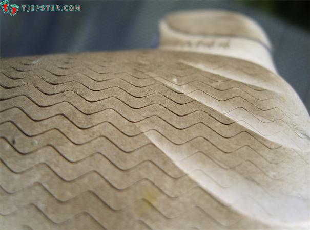 Close-up of Vibram Five Fingers Classic sole